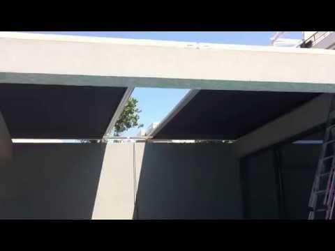 Επίδειξη τέντας οροφής αιθρίου 2