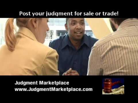 JUDGMENT MARKETPLACE ANNOUNCES NATIONAL LAUNCH FOR EVERYONE WHO BUYS CIVIL JUDGMENTS, SELLS CIVIL JUDGMENTS AND TRADES C…