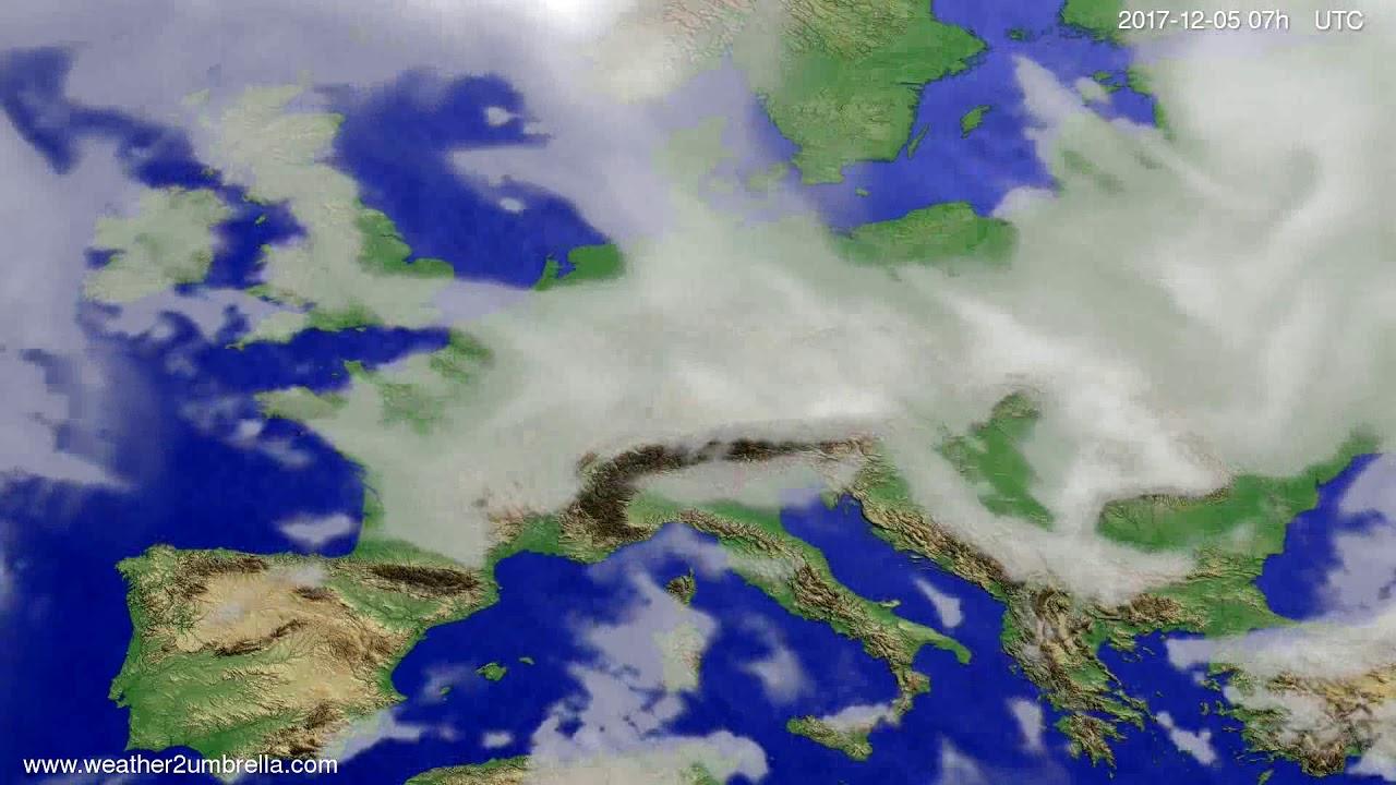 Cloud forecast Europe 2017-12-01