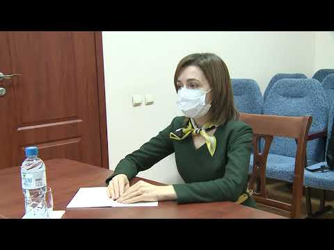 Президент Республики Молдова Майя Санду поздравила с профессиональным днем сотрудников Службы государственной охраны и призвала их поддержать реформу учреждения
