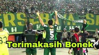 Download Video Begini Saat Pemain dan Official Mengucapkan Terimakasih Kepada Para Bonek di Stadion Bali MP3 3GP MP4