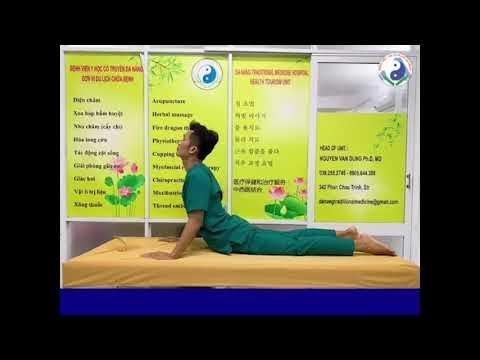 Một số bài tập đơn giản cho bệnh nhân đau lưng do thoái hóa cột sống