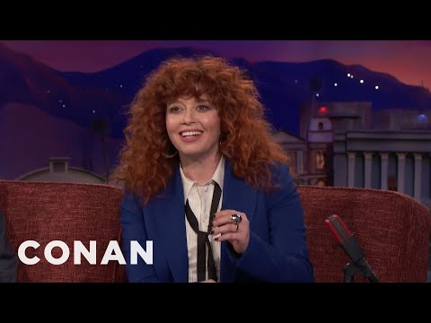Natasha Lyonne Finds Exercise Highly Humiliating  - CONAN on TBS