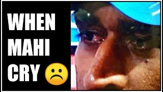 THANK YOU MSD    DHONI CRYING TIKTOK VIDEO    WORLD CUP INDIA SAD TIKTOK