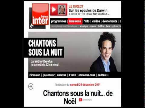 Isabelle Kauffmann parle de son roman «Grand Huit» avec Arthur Dreyfus sur France inter le 24/12/11