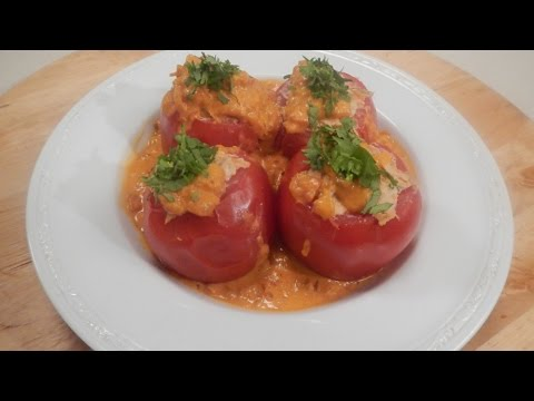 Chicken Stuffed Tomatoes 30 October 2014 05 PM