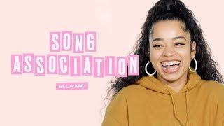 Ella Mai Sings Nicki Minaj, Adele, and Beyonce in a Game of Song Association | ELLE