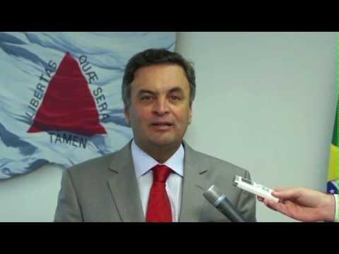 Aécio Neves: Falta de incentivo real à indústria