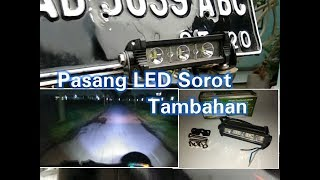 Video Cara Pasang Lampu Tembak Sorot Tambahan Cr7 3 Mata Di Motor Honda C70 MP3, 3GP, MP4, WEBM, AVI, FLV Juli 2018