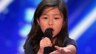 Video Trending Now: 9 year old Celine Tam STUNS THE CROWD in America's Got Talent 2017 MP3, 3GP, MP4, WEBM, AVI, FLV Maret 2019