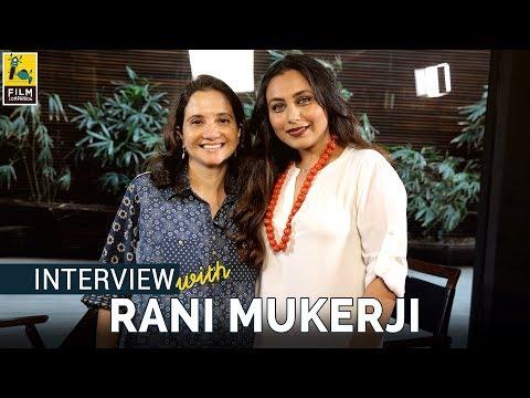 Rani Mukerji Interview with Anupama Chopra   Hichki