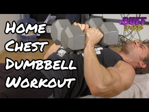 Home Chest Workout Routine – Best Dumbbell Exercises