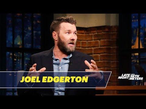 Joel Edgerton Would Be a Very Bad Spy (видео)