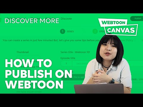 HOW TO PUBLISH ON WEBTOON • DiscoverMore