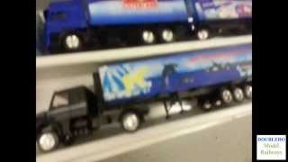 I've isted the first tray of trucks on ebay. There are 3 trays altogether. This video provides the ebayer more shots of the trucks than I...