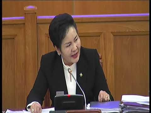 М.Билэгт: Төрийн албаны ёс зүйн дүрмийг яаралтай гаргах ёстой