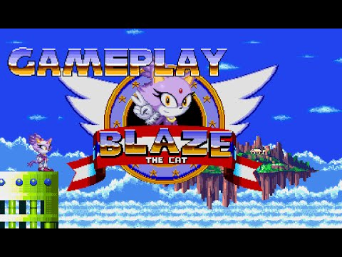 Blaze The Cat Fangame Gameplay