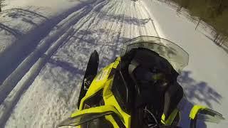 6. Ski-Doo 600R REV G4 test drive Koli-Ahmovaara