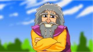Manannan Manx language cartoon, episode 1.