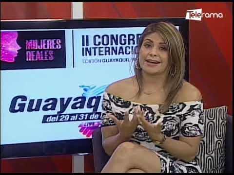 Segundo congreso internacional Mujeres Reales Edición Guayaquil