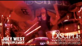 Disciple - Game On & Scars Remain (Drum Cam)