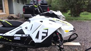 4. 2018 Ski-Doo Freeride Walk Around And Start Up With Shot