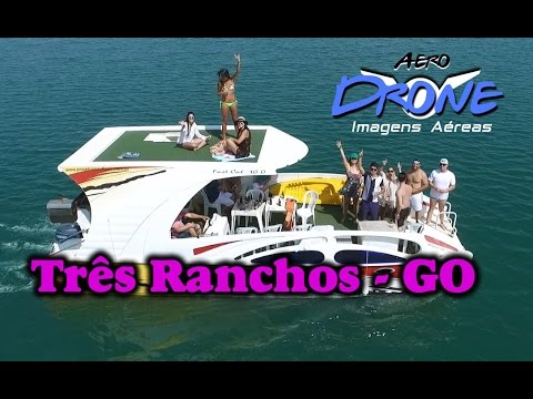 Aero Drone Três Ranchos Cidade do Lago Azul