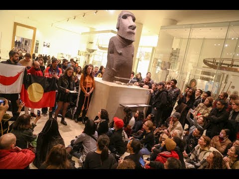 "British Museum hit by unofficial ""Stolen Goods"" tour"