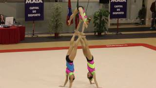 Gymnastics - Maia International Acro Cup - POR GCP W3 Junior Combined