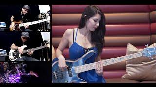 David Guetta - Dangerous Drum & Bass Cover by Anna Sentina, Miki Santamaria, and Coop3rdrumm3r