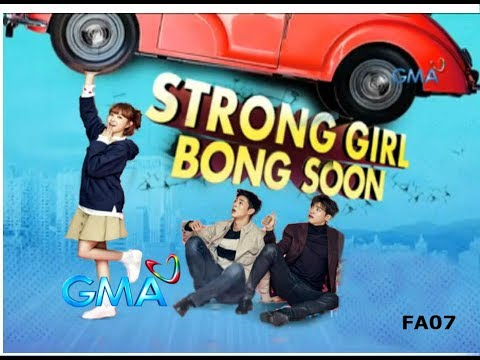 "STRONG GIRL BONG SOON GMA-7 Theme Song ""Ganito na pala ang Pag ibig"" Marika Sasaki (MV with lyrics)"