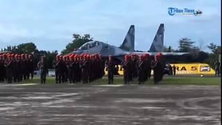 Video Suasana HUT ke-70 TNI AU di Lanud Sultan Hasanuddin MP3, 3GP, MP4, WEBM, AVI, FLV Desember 2017