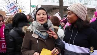 Inside the Women's March on Washington 2017