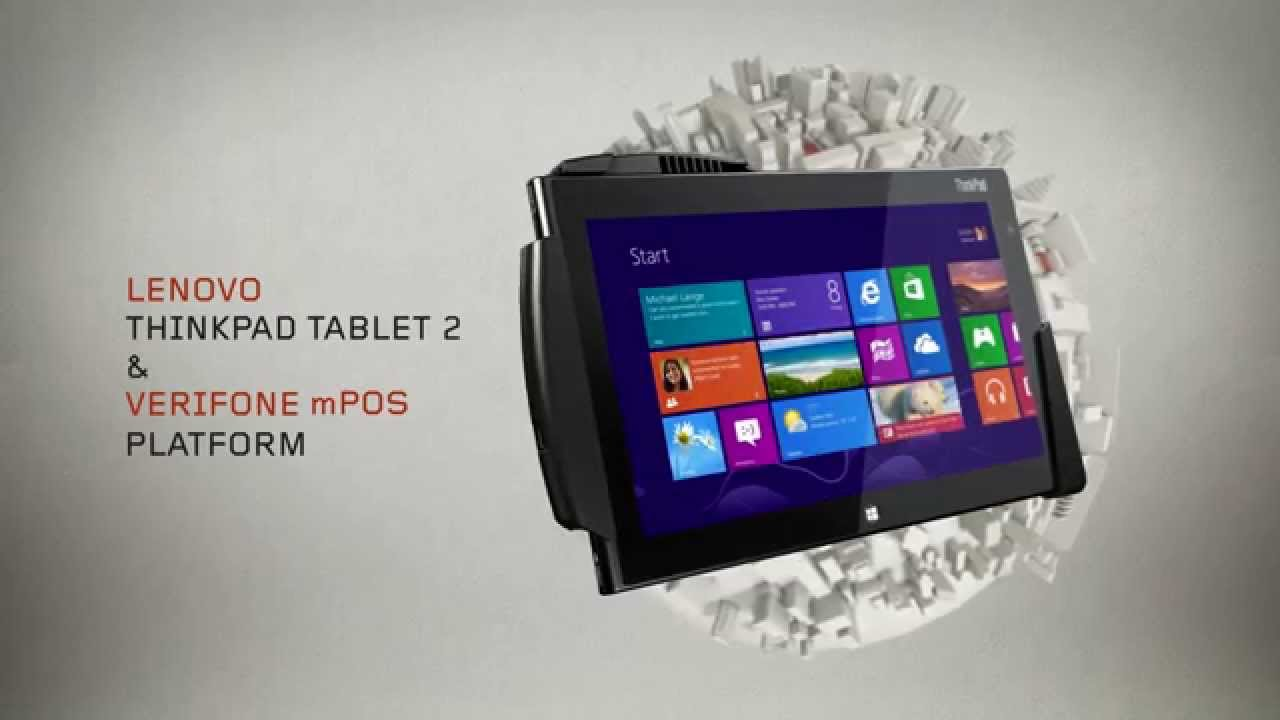 mPOS for the ThinkPad Tablet 2
