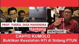 Download Video Prof. Yusril Tantang Cahyo Kumolo Buktikan Kesalahan HTI di Sidang PTUN MP3 3GP MP4