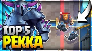 Top 5 Best Pekka Deck in Current Meta!! Pekka Deck for Legendary Arena 11, Hog Mountain Arena 10, Jungle Arena 9 and Frozen Peak Arena 8. Pekka Hog Rider, Pekka Miner, Pekka Battle Ram, Pekka Bridge Spam and Pekka Graveyard Deck.~~~Free Gems: http://mistplay.co/shane ~~ Invite Code: ShaneWhat do you guys think is the best pekka deck? let me know in the comments!Click here to Subscribe: http://www.youtube.com/channel/UCTsFqvFocRsP6YmdzPdHwCw?sub_confirmation=1Follow me on Twitter: https://twitter.com/CLASHwith_SHANEJOIN MY CLANS:Clan 1: CHILLwithSHANEClan 2: CLANwithSHANE________________________________________________________________If you enjoyed the video, please like and subscribe. New Clash Royale Content every day!Clash Royale  Clash Royal Gameplay & Strategy  Clash Royale Tips Tricks GuidesIntro Music: Jetta - I'd Love to Change the World (Matstubs Remix)Outro Music: Hey Now by MK2Thanks for watching! Have an awesome day!