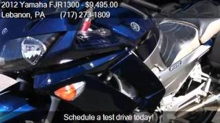 5. 2012 Yamaha FJR1300 FJR1300A for sale in Lebanon, PA 17046 a