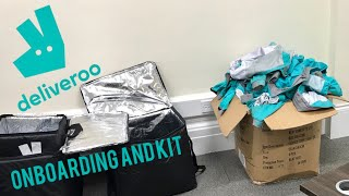 Deliveroo Onboarding Session and FREE Kit