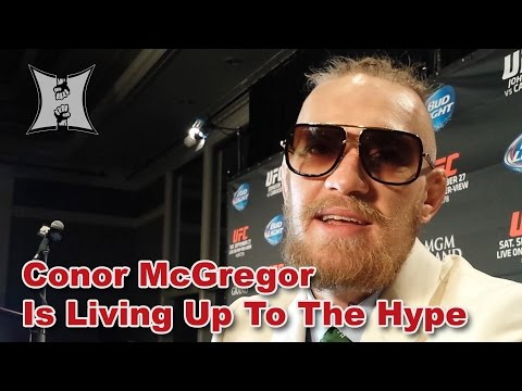 Conor - MMA H.E.A.T.'s Karyn Bryant caught up with rising UFC star Conor McGregor after the UFC 178 press conference and heard what he had to say about the fast finish of Dustin Poirier. Conor also...