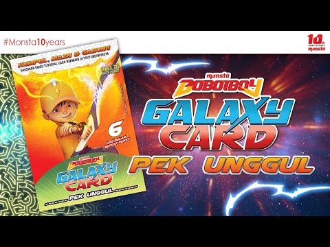 #BoBoiBoyGalaxyCard ✨PEK UNGGUL✨ - Paket BoBoiBoy Petir⚡ - Thời lượng: 90 giây.