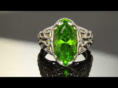 Pakistani Peridot Ring by Christopher Michael