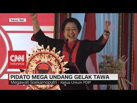 Kocak! Kumpulan Pidato Lucu Megawati di Kongres V PDIP