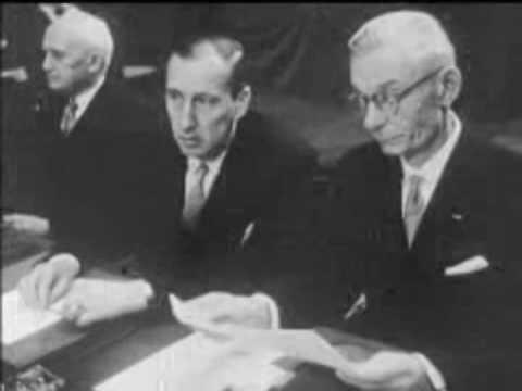 1958:Πρώτο Συμβούλιο Υπουργών Γενικών Υποθέσεων ΕΟΚ