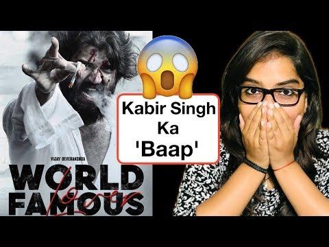 World Famous Lover Teaser REVIEW | Deeksha Sharma