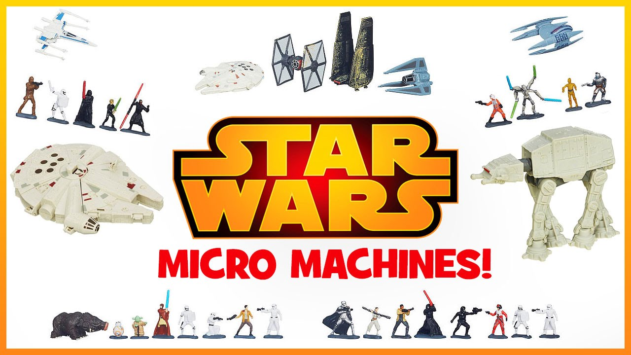 STAR WARS Micro Machine – Ultimate Saga Battle!