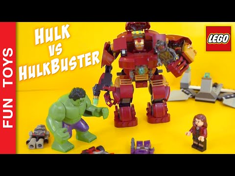 👊 Hulk fights Hulkbuster!!! Who is going to win? Iron Man,  Scarlet Witch, Ultron Lego Toy Juguetes:  In this short video Hulk tries to win the Hulkbuster and look what happened !!!This is only part of the video we made building the Lego toy Hulkbuster 76031Watch the full video by clicking here: http://www.ascendents.net/?v=TxmEbJvIyuk&list=PL2edokDcUWHLRrau5wZfxiP5gZjU7EHhAAlso in this video: Iron Man, Scarlet Witch, Hulk, Hulkbuster and even Ultron !!!Comment below your favorite part!Do not forget to LIKE and SHARE the video.And please Subscribe: http://www.youtube.com/funtoysbrinquedosvideos/videos?sub_confirmation=1Buy Lego Civil War and Avengers here: http://bit.ly/Lego_AvengersOther cool vídeos:- ALL Iron Man's Suits, Powers & Suit Up Animations, from LEGO Marvel's Avengers game:http://www.ascendents.net/?v=lTRzmSsi8w0&list=PL2edokDcUWHLRrau5wZfxiP5gZjU7EHhA- Batman vs Supermanhttp://www.ascendents.net/?v=aYHSERE_hHU&list=PL2edokDcUWHLRrau5wZfxiP5gZjU7EHhA- Transformers:http://www.ascendents.net/?v=ZxyVimuxFYU&list=PL2edokDcUWHLRrau5wZfxiP5gZjU7EHhA- Crazy Stormtrooper:http://www.ascendents.net/?v=PjZycIG831U&list=PL2edokDcUWHLRrau5wZfxiP5gZjU7EHhA- Star Wars Rebels:http://www.ascendents.net/?v=GofUUE-K85w&list=PL2edokDcUWHLRrau5wZfxiP5gZjU7EHhA- Gyrosphere attacked by a Dinosaur:http://www.ascendents.net/?v=xKamP0QU5vs&index=30&list=PL2edokDcUWHLRrau5wZfxiP5gZjU7EHhA- X-wing Poe Star Wars:http://www.ascendents.net/?v=yJtxxN7JeOM&list=PL2edokDcUWHLRrau5wZfxiP5gZjU7EHhA- Pteranodonte escaped!!!http://www.ascendents.net/?v=x_T27Pd38cc&list=PL2edokDcUWHLRrau5wZfxiP5gZjU7EHhA- Nerf do StormTrooper Rebels:http://www.ascendents.net/?v=NtVuiosvsRw&list=PL2edokDcUWHLRrau5wZfxiP5gZjU7EHhA- Flextangle + Heroes + Frozen:http://www.ascendents.net/?v=5LjExz-wmJA&list=PL2edokDcUWHLRrau5wZfxiP5gZjU7EHhA- DIY Lego car powered by elastic:http://www.ascendents.net/?v=MoMtgGZ-xQI&list=PL2edokDcUWHLRrau5wZfxiP5gZjU7EHhA- Angry Birds: Remote Control Fight:http://www.ascendents.net/?v=gTois0h4hWw&list=PL2edokDcUWHLRrau5wZfxiP5gZjU7EHhA- DIY Star Wars Bookmarkers:http://www.ascendents.net/?v=OAsvuJBVMAw&list=PL2edokDcUWHLRrau5wZfxiP5gZjU7EHhA- Puffy Paint DIY, Little Ponny, Kung Fu Panda, Angry Birds:http://www.ascendents.net/?v=Z8MWyPKdnlM&list=PL2edokDcUWHLRrau5wZfxiP5gZjU7EHhA- Captain America + Minecraft + Legohttp://www.ascendents.net/?v=_tnq1kdfpPQ&list=PL2edokDcUWHLRrau5wZfxiP5gZjU7EHhA- Batman + Minecraft + Legohttp://www.ascendents.net/?v=n8WWUqIR-rw&list=PL2edokDcUWHLRrau5wZfxiP5gZjU7EHhA- DIY Kylo Ren Mask & Hood from Star Wars: The Force Awakens:http://www.ascendents.net/?v=YxxeWXcf3Lc&list=PL2edokDcUWHLRrau5wZfxiP5gZjU7EHhA- Draw with 3d Effect - DIYhttp://www.ascendents.net/?v=Lut8_6bJCmg&list=PL2edokDcUWHLRrau5wZfxiP5gZjU7EHhA- Minions Xmas Window Painting - DIY:http://www.ascendents.net/?v=CATQWufaz64&list=PL2edokDcUWHLRrau5wZfxiP5gZjU7EHhA- DIY - Lego Marble Maze:http://www.ascendents.net/?v=JsdElX_MarY&list=PL2edokDcUWHLRrau5wZfxiP5gZjU7EHhA- Minios + Minecraft + Lego:http://www.ascendents.net/?v=ujhl17HUNsQ&list=PL2edokDcUWHLRrau5wZfxiP5gZjU7EHhA- Adventure Hour + Minecraft + Lego:http://www.ascendents.net/?v=1IrpUCa2t-s&list=PL2edokDcUWHLRrau5wZfxiP5gZjU7EHhAFOLLOW US: 😀 😅 😉 😍 😗 😜 😎✦Youtube: http://www.youtube.com/channel/UCVOq9DX3BL9bBU9FrG5MpMA?sub_confirmation=1✦Instagram: http://instagram.com/fun_toys_brinquedos/✦Facebook: http://www.facebook.com/Fun.Toys.Brinquedos.YT✦Twitter: http://twitter.com/FunToysBrinque✦Blog: http://festadeideias.com.br/Fun_Toys_Brinquedos/✦Google+: http://goo.gl/QVmgp0Music: