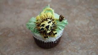 Lion Cupcake / Cake Decorating