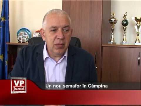 Un nou semafor în Câmpina