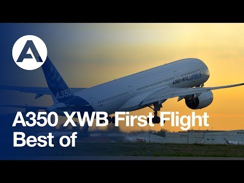 Flight - From the precisely-timed takeoff to a smooth landing just over four hours later, the A350 XWB's maiden flight on 14 June 2013 confirmed this jetliner's promi...