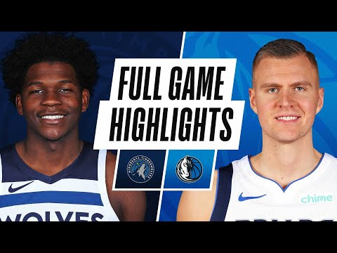 Video: TIMBERWOLVES at MAVERICKS | FULL GAME HIGHLIGHTS | February 8, 2021